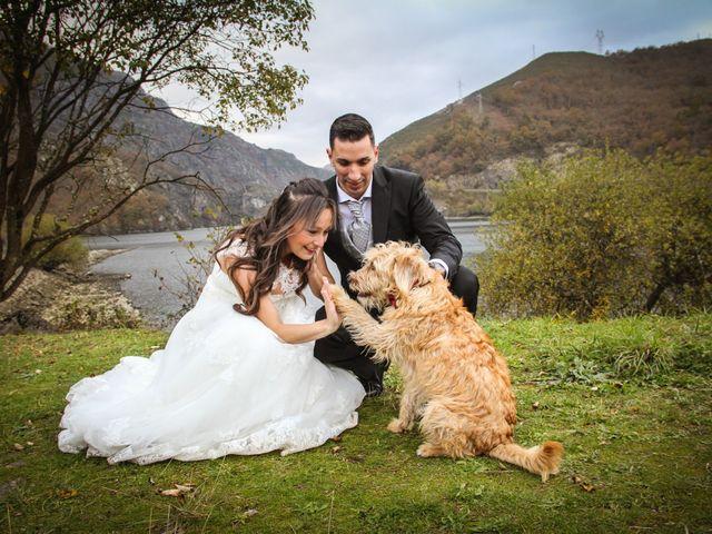 La boda de Héctor y Jeni en La Felguera (Langreo), Asturias 62