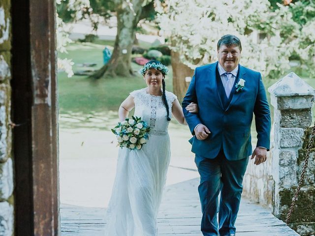 La boda de Alberto y Isa en Pontevedra, Pontevedra 13