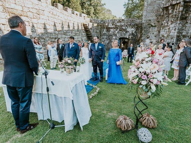 La boda de Alberto y Isa en Pontevedra, Pontevedra 16
