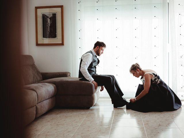 La boda de Jaime y Lorena en Sant Cugat Sesgarrigues, Barcelona 8