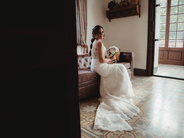 La boda de Jaime y Lorena en Sant Cugat Sesgarrigues, Barcelona 35