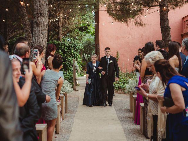 La boda de Jaime y Lorena en Sant Cugat Sesgarrigues, Barcelona 45