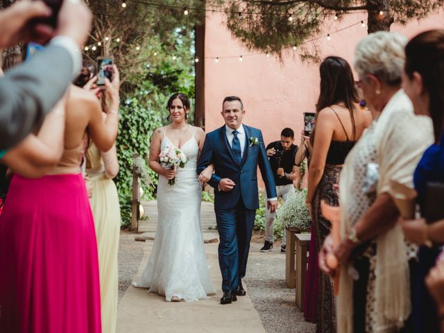 La boda de Jaime y Lorena en Sant Cugat Sesgarrigues, Barcelona 52