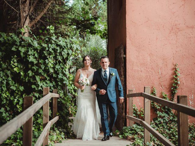 La boda de Jaime y Lorena en Sant Cugat Sesgarrigues, Barcelona 55