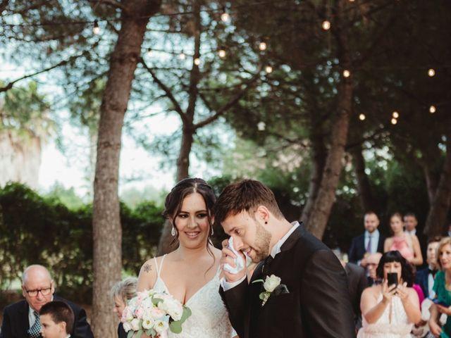 La boda de Jaime y Lorena en Sant Cugat Sesgarrigues, Barcelona 57