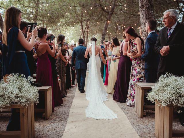La boda de Jaime y Lorena en Sant Cugat Sesgarrigues, Barcelona 58