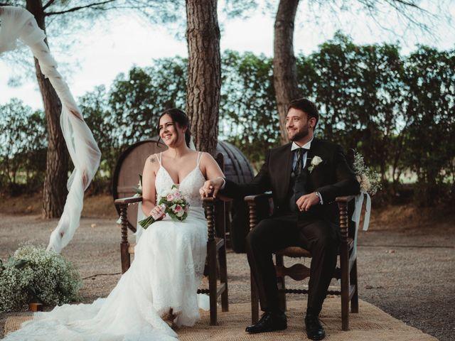 La boda de Jaime y Lorena en Sant Cugat Sesgarrigues, Barcelona 60
