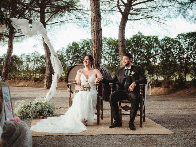La boda de Jaime y Lorena en Sant Cugat Sesgarrigues, Barcelona 62