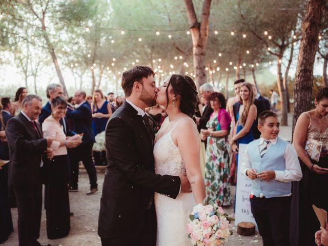 La boda de Jaime y Lorena en Sant Cugat Sesgarrigues, Barcelona 77