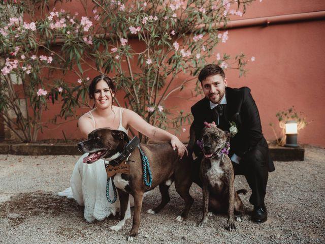 La boda de Jaime y Lorena en Sant Cugat Sesgarrigues, Barcelona 81
