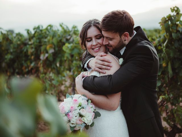 La boda de Jaime y Lorena en Sant Cugat Sesgarrigues, Barcelona 85