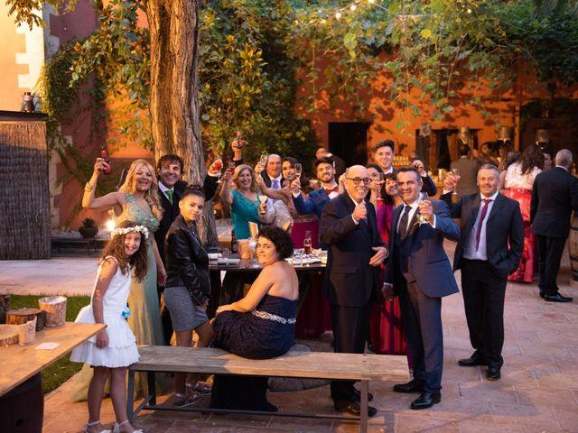 La boda de Jaime y Lorena en Sant Cugat Sesgarrigues, Barcelona 96
