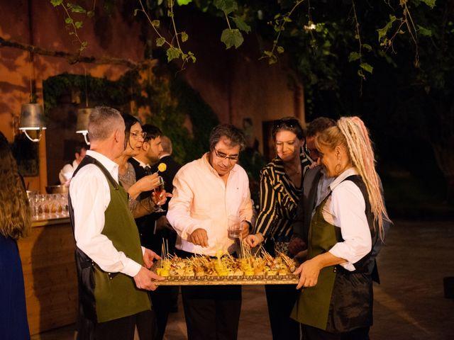 La boda de Jaime y Lorena en Sant Cugat Sesgarrigues, Barcelona 114