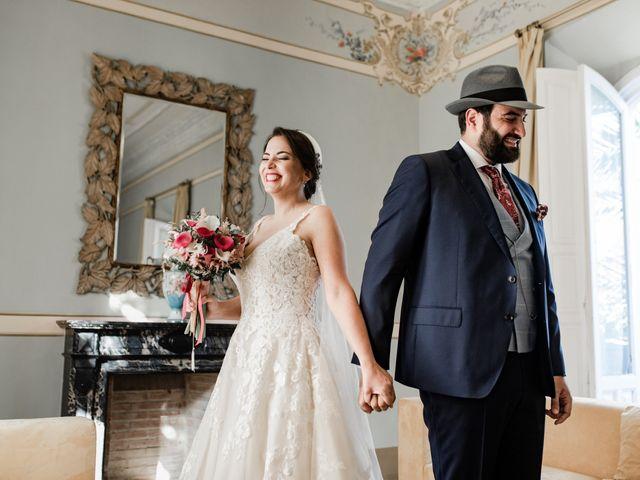La boda de Roberto y Manuela en Casas De Reina, Badajoz 44