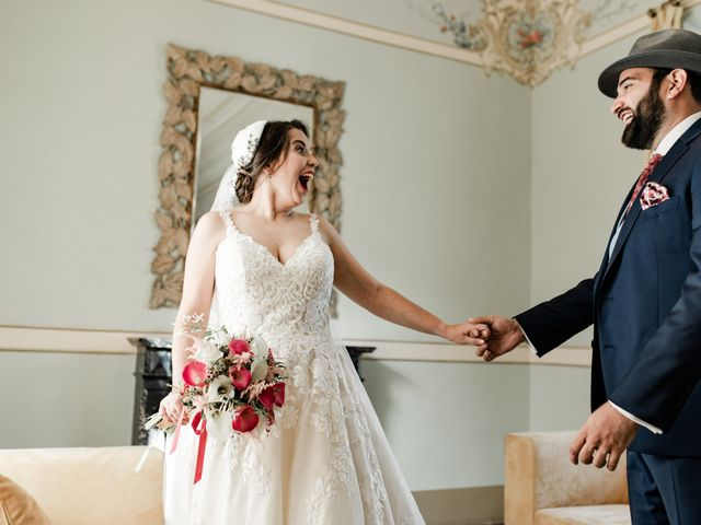 La boda de Roberto y Manuela en Casas De Reina, Badajoz 45