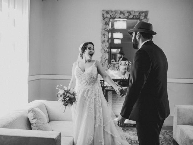 La boda de Roberto y Manuela en Casas De Reina, Badajoz 46