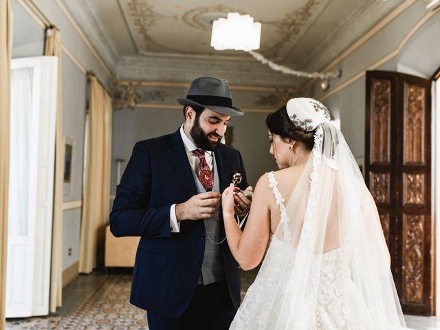 La boda de Roberto y Manuela en Casas De Reina, Badajoz 48