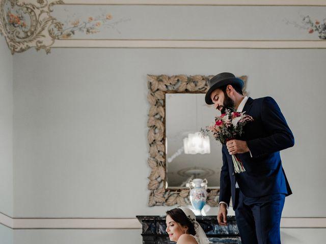 La boda de Roberto y Manuela en Casas De Reina, Badajoz 51