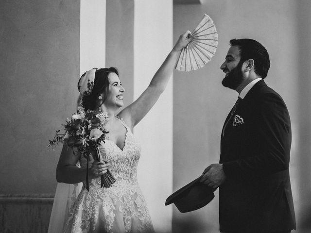 La boda de Roberto y Manuela en Casas De Reina, Badajoz 53
