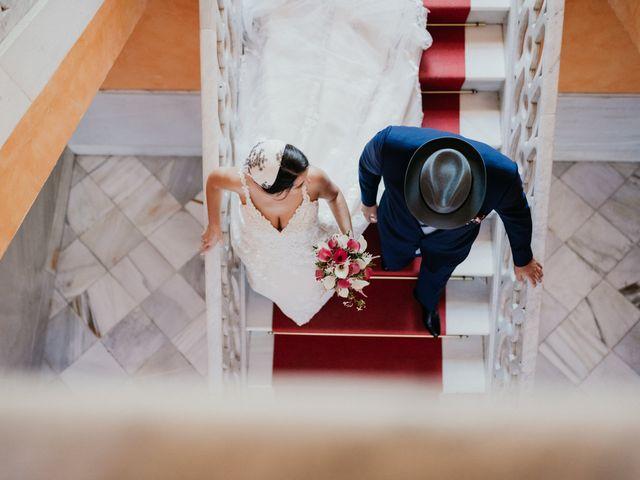 La boda de Roberto y Manuela en Casas De Reina, Badajoz 54