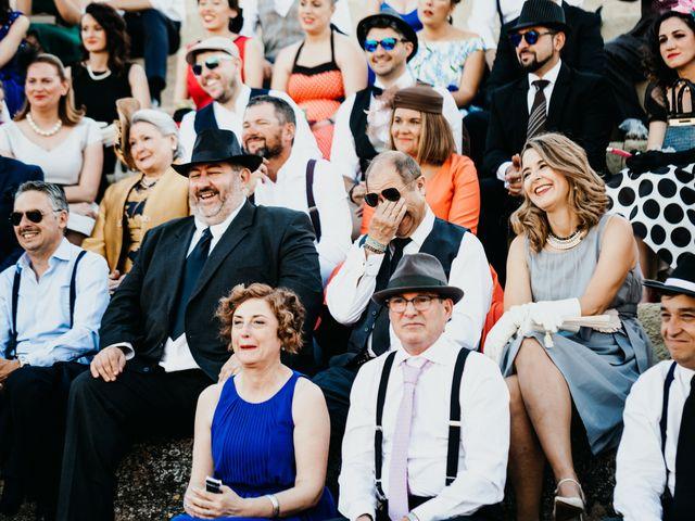 La boda de Roberto y Manuela en Casas De Reina, Badajoz 64
