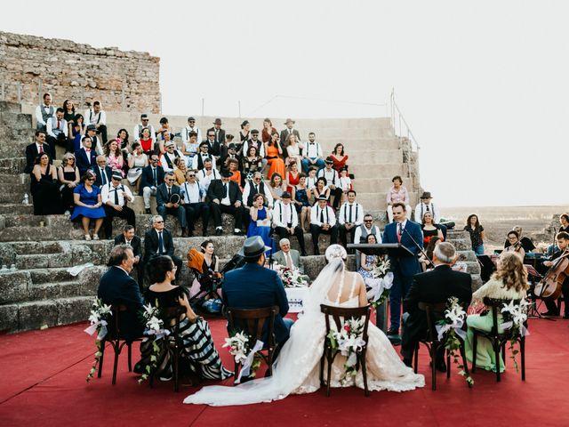 La boda de Roberto y Manuela en Casas De Reina, Badajoz 66