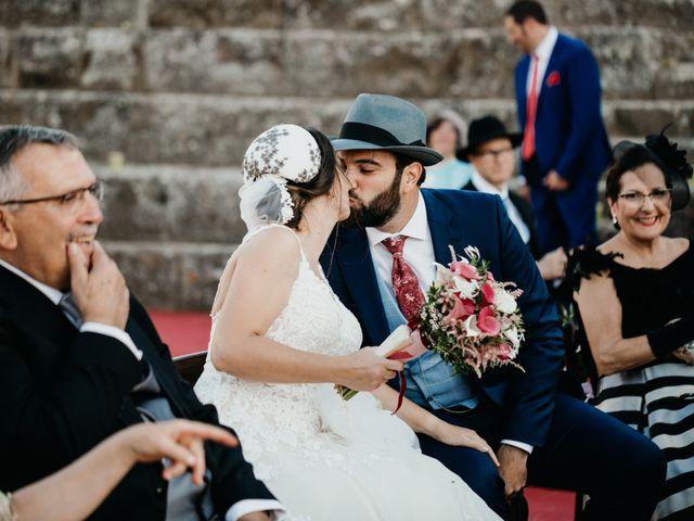 La boda de Roberto y Manuela en Casas De Reina, Badajoz 69