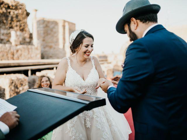 La boda de Roberto y Manuela en Casas De Reina, Badajoz 70