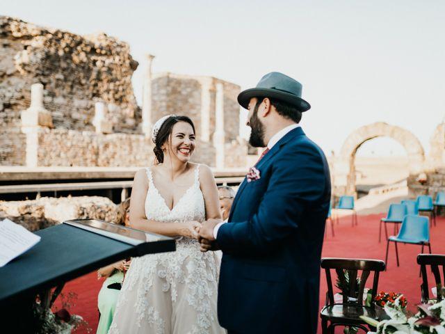 La boda de Roberto y Manuela en Casas De Reina, Badajoz 71