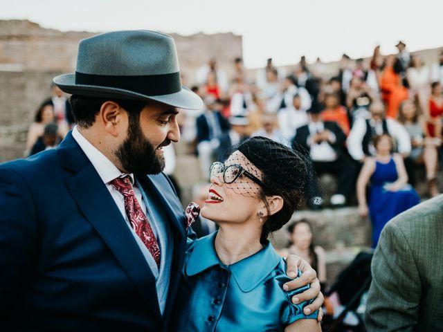 La boda de Roberto y Manuela en Casas De Reina, Badajoz 72