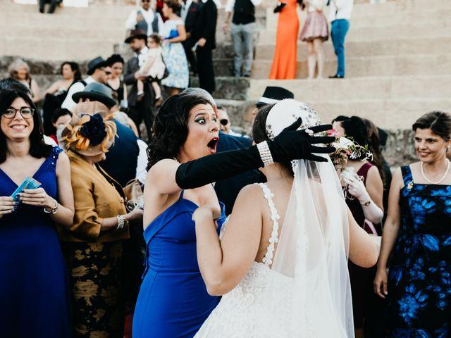 La boda de Roberto y Manuela en Casas De Reina, Badajoz 74