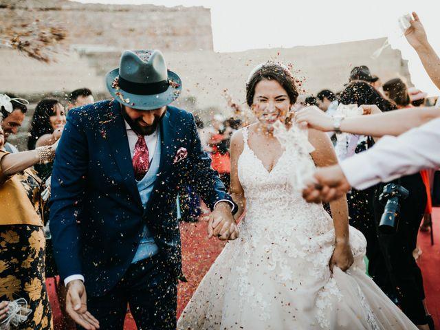 La boda de Roberto y Manuela en Casas De Reina, Badajoz 75