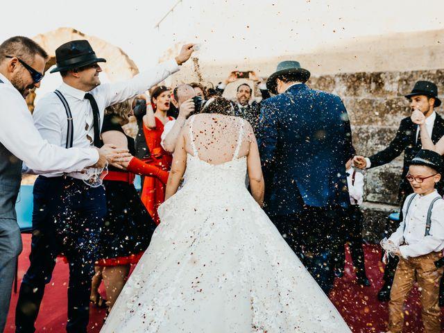 La boda de Roberto y Manuela en Casas De Reina, Badajoz 76