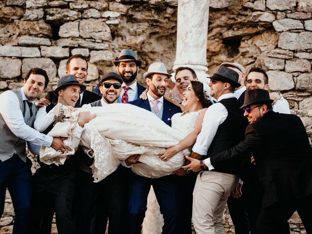 La boda de Roberto y Manuela en Casas De Reina, Badajoz 82
