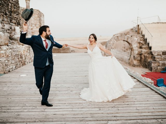 La boda de Roberto y Manuela en Casas De Reina, Badajoz 87