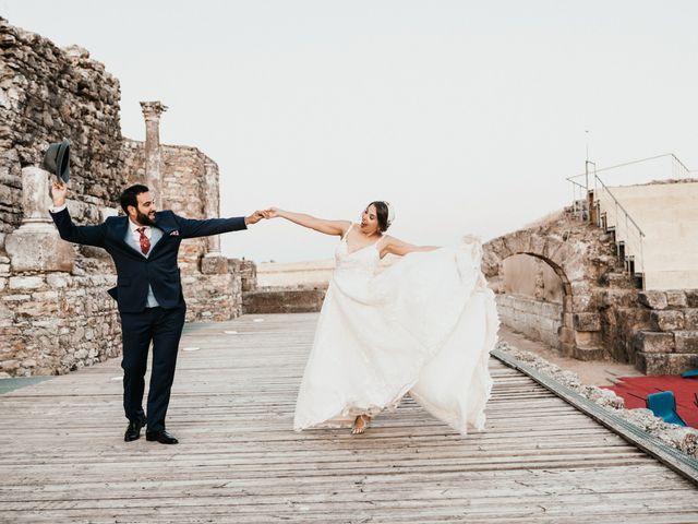 La boda de Roberto y Manuela en Casas De Reina, Badajoz 88