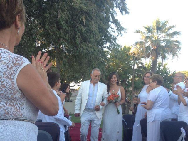La boda de Pedro  y Meli  en Castelldefels, Barcelona 12