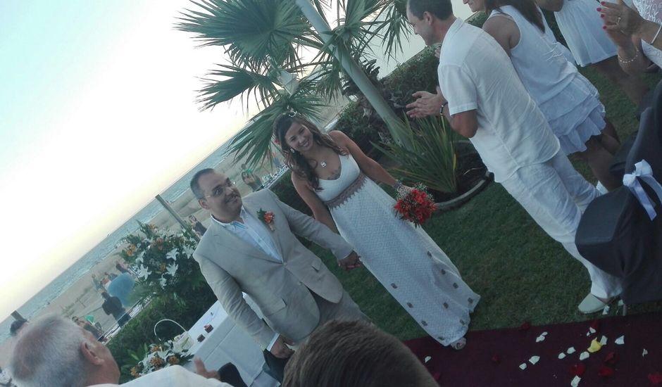 La boda de Pedro  y Meli  en Castelldefels, Barcelona