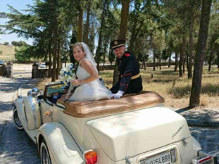 La boda de Iván  y Loli