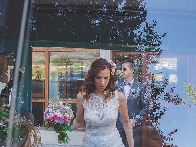 La boda de Cristobal y Patricia en Las Fraguas, Soria 16