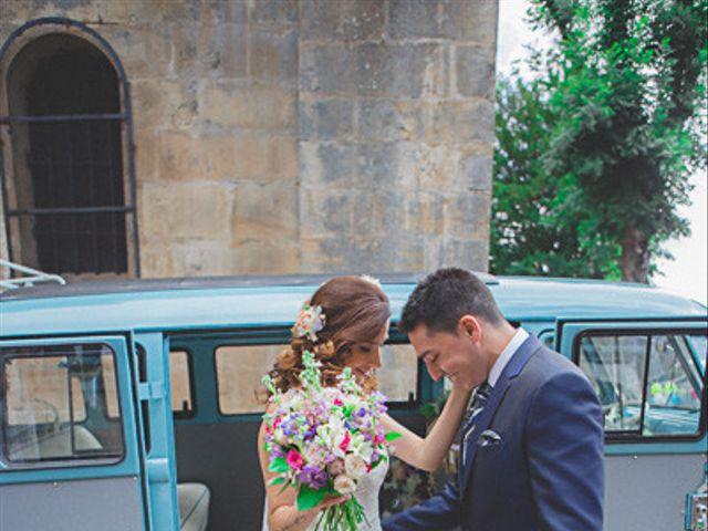 La boda de Cristobal y Patricia en Las Fraguas, Soria 19