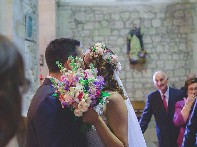 La boda de Cristobal y Patricia en Las Fraguas, Soria 20