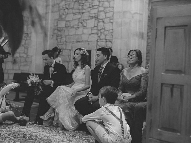 La boda de Cristobal y Patricia en Las Fraguas, Soria 22