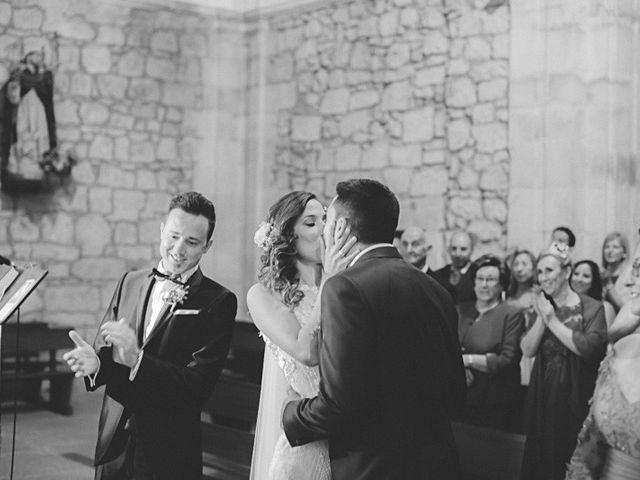 La boda de Cristobal y Patricia en Las Fraguas, Soria 25