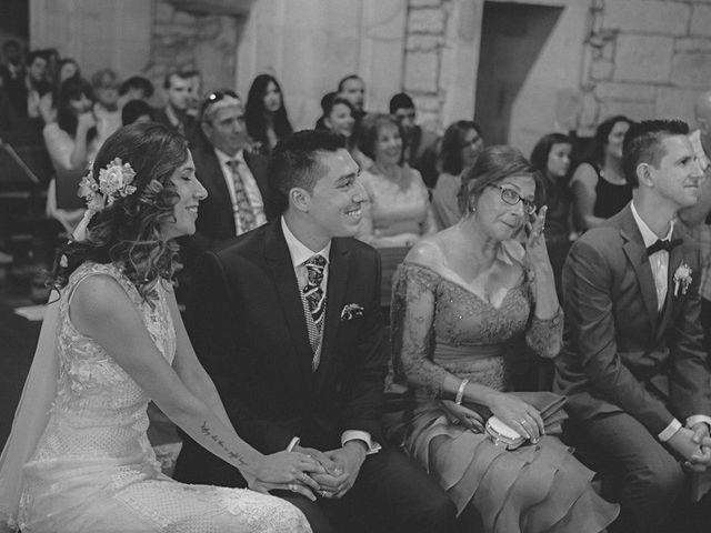La boda de Cristobal y Patricia en Las Fraguas, Soria 26