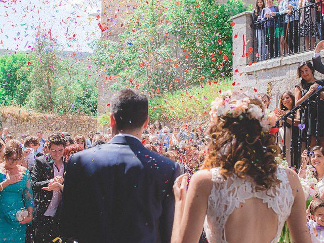 La boda de Cristobal y Patricia en Las Fraguas, Soria 27