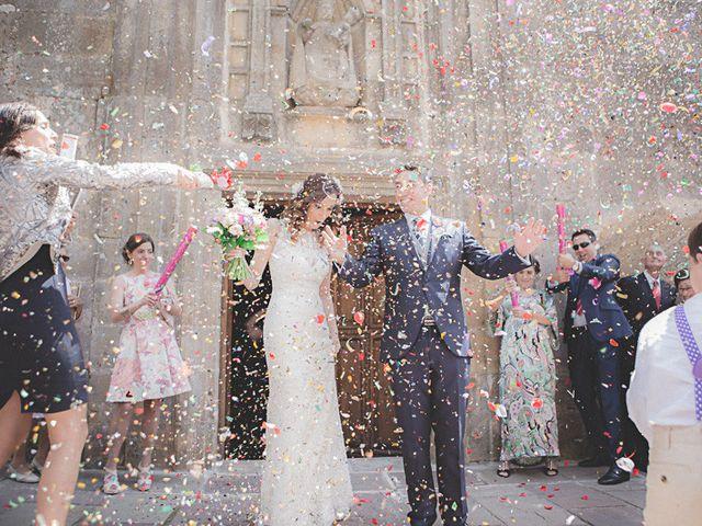La boda de Cristobal y Patricia en Las Fraguas, Soria 29