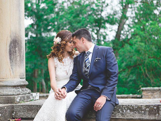 La boda de Cristobal y Patricia en Las Fraguas, Soria 34