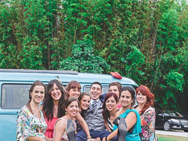 La boda de Cristobal y Patricia en Las Fraguas, Soria 45