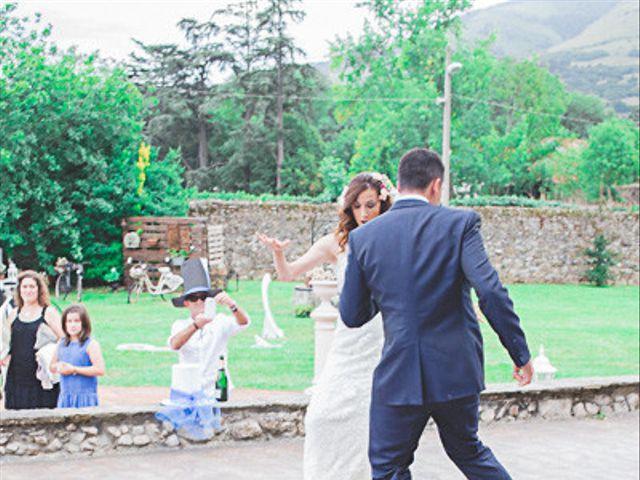 La boda de Cristobal y Patricia en Las Fraguas, Soria 57